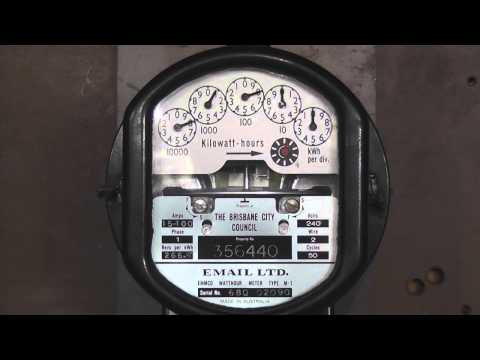 Australian Made Email M1 KWh Meter
