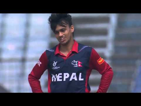 [U19 World Cup] Pakistan Young player Hassan Mohsin 117 Runs and 4 Wickets Against Nepal U19