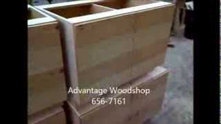 Advantage Woodshop - Custom Cabinets