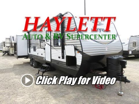 HaylettRV - 2018 Jayco 32TSBH Jay Flight Bunkhouse Outside Kitchen Triple Slide Travel Trailer