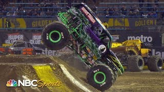 Monster Jam 2020: Oakland, California | EXTENDED HIGHLIGHTS | Motorsports on NBC