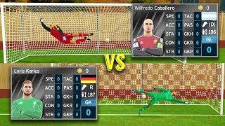 Karius vs Caballero | Penalty Shootout | Dream League Soccer 18