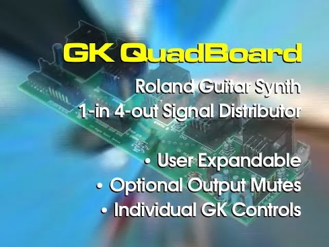 GK QuadBoard - Roland GKP-4 clone - Expandable with US-20 features