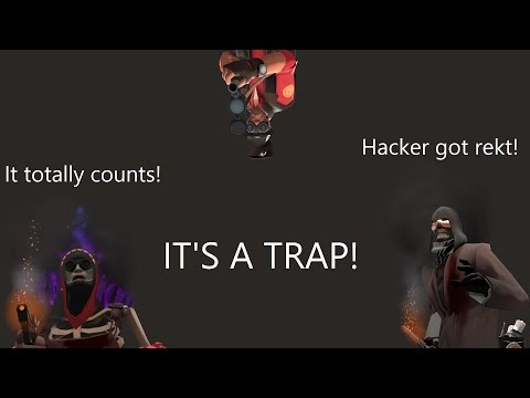 IT'S A TRAP! Hacker got rekt! It totally counts! - ZF with Viewers