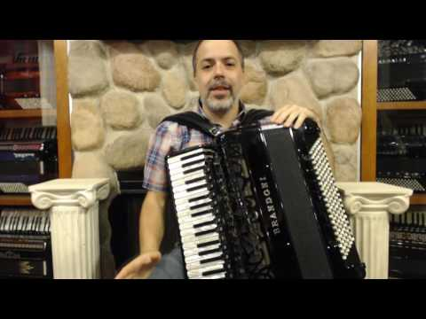 How to Play Brazilian Forró  on Piano Accordion - Lesson 3 - Roseira do Norte Part 2