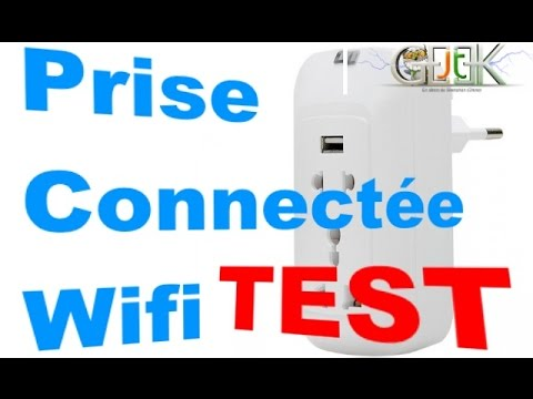 prise connect e wifi control smartphone test vid o par glg youtube