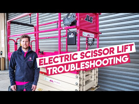 JLG Electric Scissor Lift Troubleshooting | Pink Boots Hire
