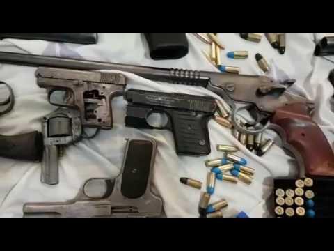 Sacaron de circulación armas de guerra que habrían sido usadas por soldaditos