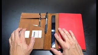 iPad Mini & Large Moleskin Cover by Galen Leather