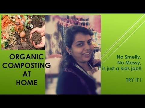 Organic Composting at Home || Video on how to do Organic Composting at home