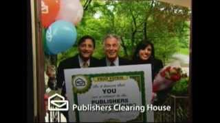 Publisher's Clearing House announces a new winner  5-31-2012