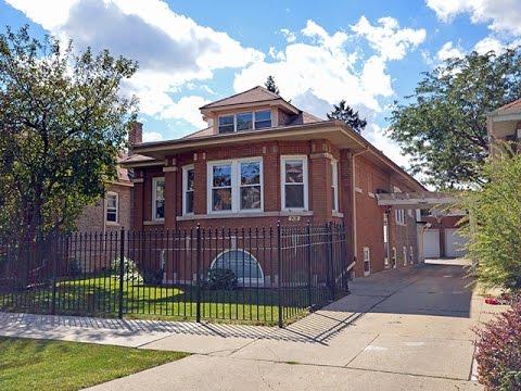 Rare Historic Jumbo Chicago Bungalow For Sale!