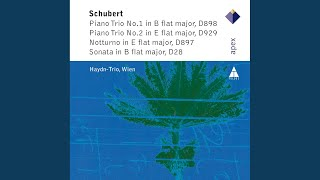 Notturno in E flat major for Piano Trio Op.148
