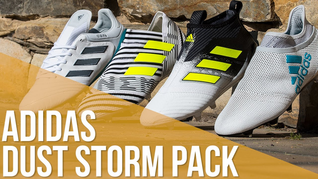 pretty nice 07f85 f06c3 Las botas adidas para la Final de Champions League    adidas Dust Storm  Pack. Fútbol Emotion