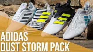 Las botas adidas para la final de champions league // adidas dust storm pack