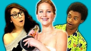 Repeat youtube video Teens React to Jennifer Lawrence