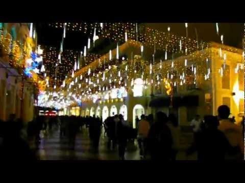 HD Christmas in Macau Historic Centre of Macau Ruins World Heritage China  澳門歷史城區