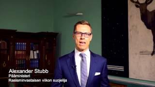Onko Alexander Stubb rasisti?