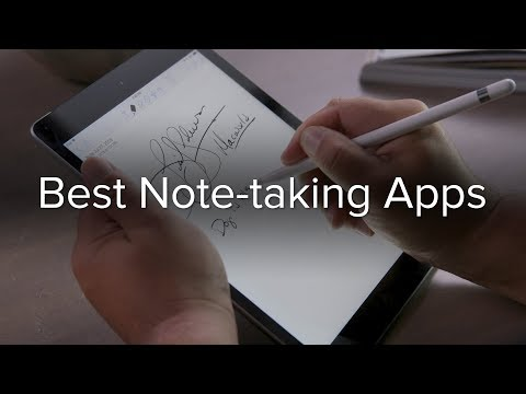 The best note-taking apps for the iPad and Apple Pencil