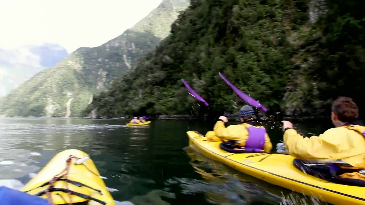 Kayak Milford Sound with Roscos Milford Kayaks - Home Page