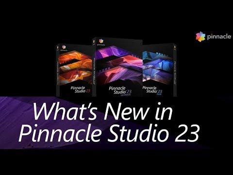 What's New In Pinnacle Studio 23