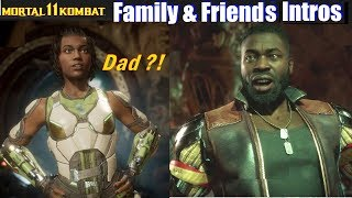 MK11 Family & Friends Intros - Mortal Kombat 11