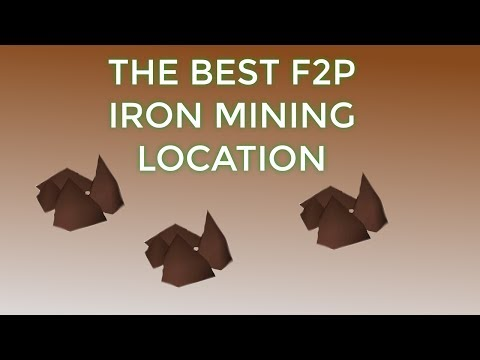 [OSRS] The Best F2P Iron Mining Place