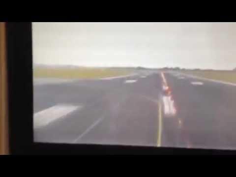 Emirates 777-300ER Nose-Cam view Dublin take off