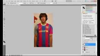 photoshop clothes change tutorial