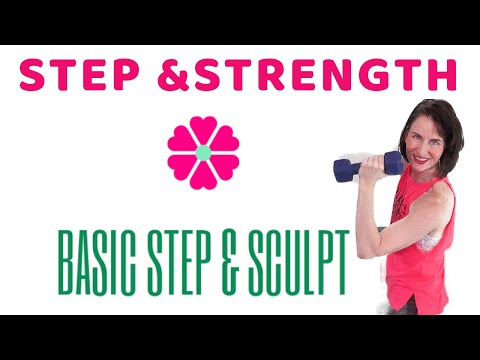 60-minute-workout-|-basic-step-aerobics-|-step-aerobics-at-home-|-weight-loss-workout-|-aft