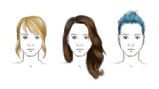 Как Рисовать Волосы в Фотошопе(Tutorial: how to draw hair. Показываю, как рисовать, как я рисую волосы в фотошопе на планшете. Простой вариант рисовани..., 2016-03-11T15:12:07.000Z)