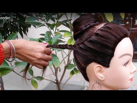 Easy & Quick Hairstyles for Navratri 2019 || Navratri ...