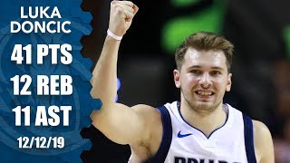 Luka Doncic shines with 41-point triple-double in Mexico City | 2019-20 NBA Highlights Video