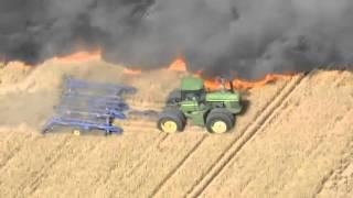 Farmer w USA ratuje swoje plony..