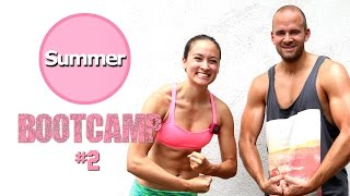 20 Min Live Workout - Beste Übungen den ganzen Körper  - Sommer Bootcamp #2