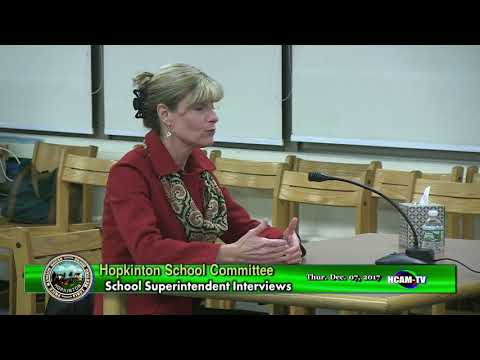 Carol Cavanaugh School Superintendent Interview