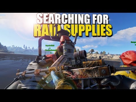 SEARCHING For RAID SUPPLIES (Rust Survival) #165