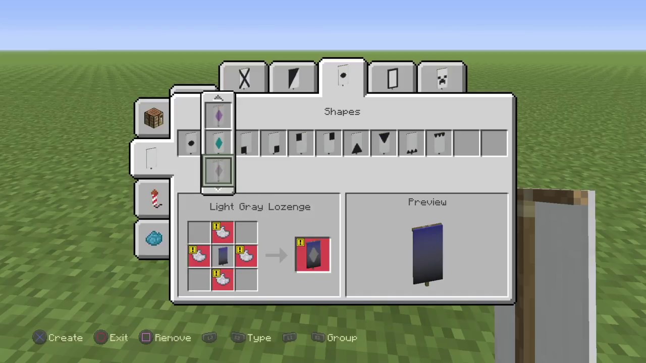 How To Customize Banners In Minecraft Ps4 Youtube