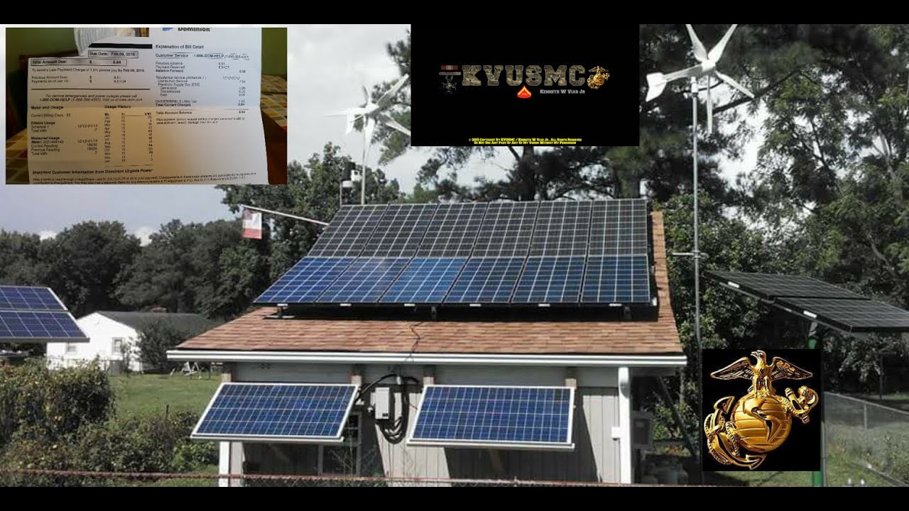 small resolution of solar and wind home power 2 kwh power bill january 2016 by kvusmc