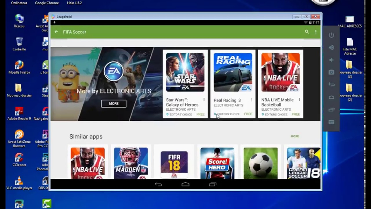 tuto : How To Install Setup Download LeapDroid Emulator On PC To Play  Android Apps & Games