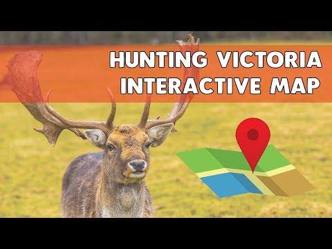 Hunting Victoria Interactive Map | Deer Hunting Spots Victoria Australia
