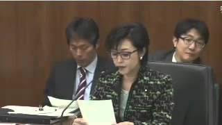 2/18 三原じゅんこ「自殺対策基本法」参院・厚生労働委員会・委員長.