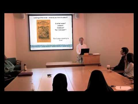 Lecture by Dr Kim C Sturgess - Qatar University May 2013