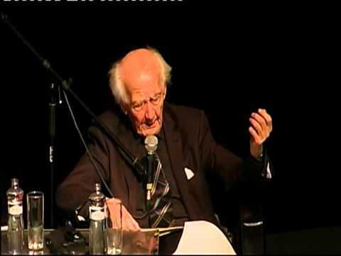 Profesor Zygmunt  Bauman, Central European Forum, Bratislava 5.11.2010