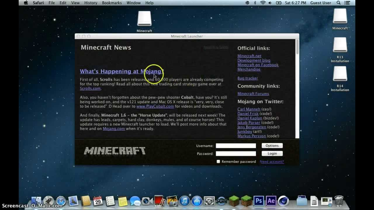 how to download new minecraft launcher on mac