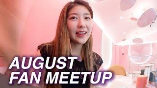 Became a Beauty Ambassador and our August Seoul Meetup Venue!