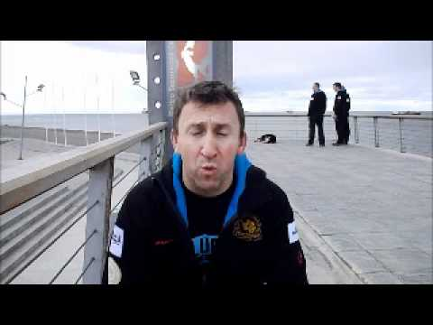 Stu Quinn's Video Diary from Punta Arenas