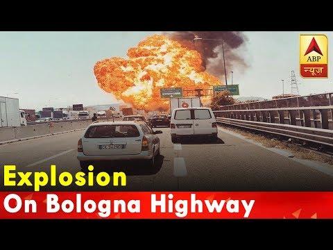 Italy: Oil tanker explodes making huge fireball and killing 2