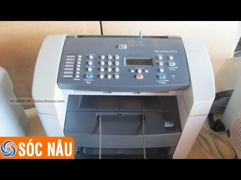 Cách Download Driver Máy In HP LaserJet 3015 All-in-One