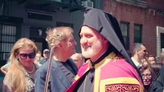 Ενθρόνιστηκε ο νεος  Αρχιεπισκόπος Αμερικής Ελπιδοφόρος